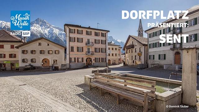 Dorfplatz Sent