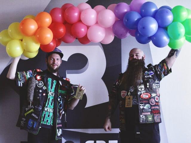 Martin und Lukas gewinnen den SRF 3-Festival-Superpass
