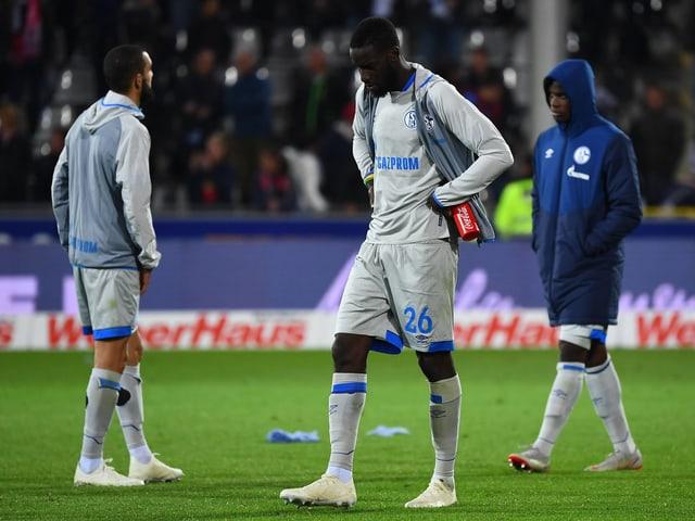 Nabil Bentaleb, Salif Sané und Breel Embolo.