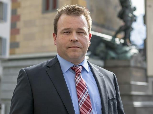 Der Urner Politiker Christian Arnold.