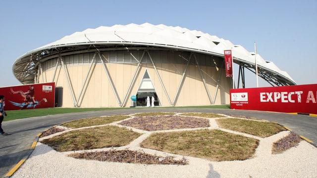 Il stadion da ballape a Doha.