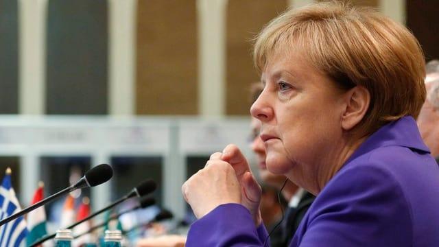 Angela Merkel, la chanzeliera tudestga.