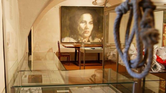 Ausstellungsraum im Anna-Göldi-Museum.