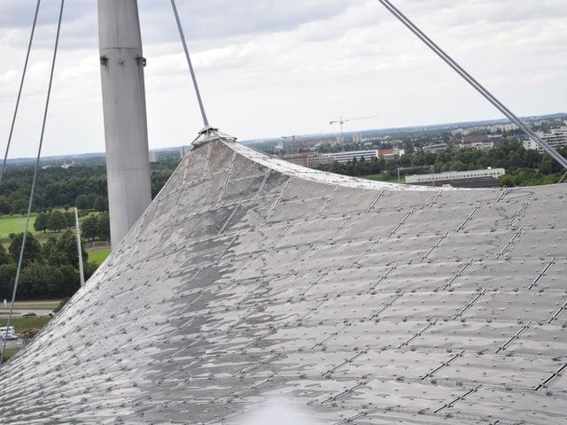 Das Dach der Olympiastadions