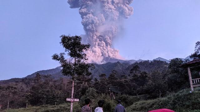 Vulka Merapi am 3.3.20