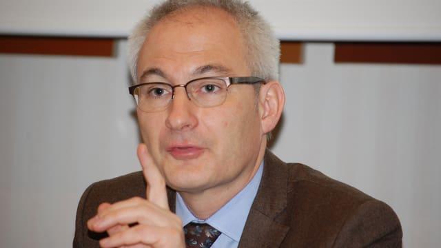 Der bernische Erziehungsdirektor Bernhard Pulver.