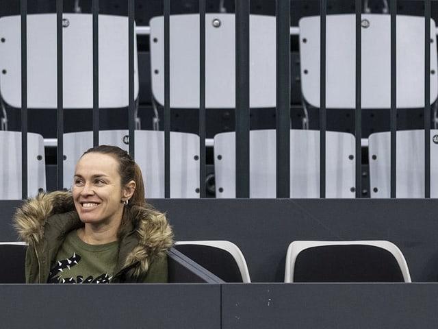 Martina Hingis hat wieder eine Funktion an den WTA Finals inne.