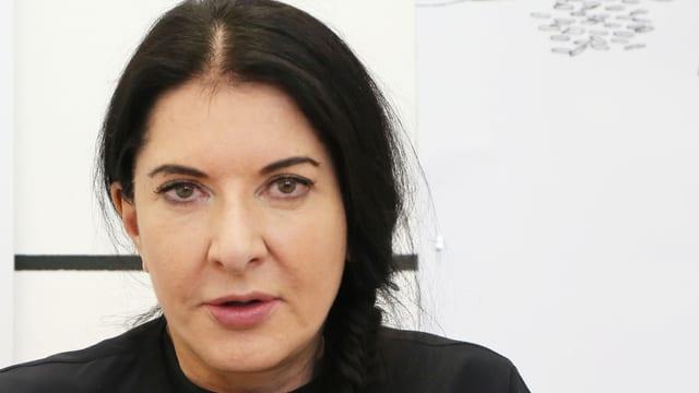 Porträt von Marina Abramović.
