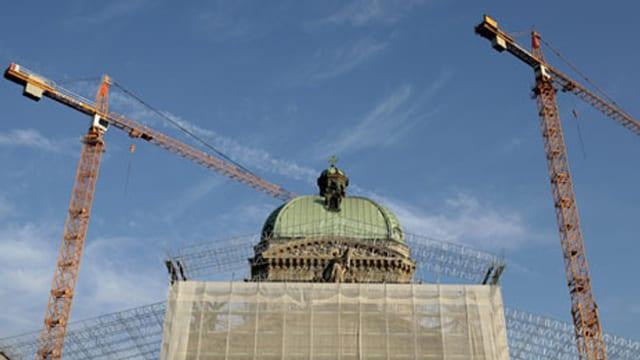 Umbau Parlamentsgebäude
