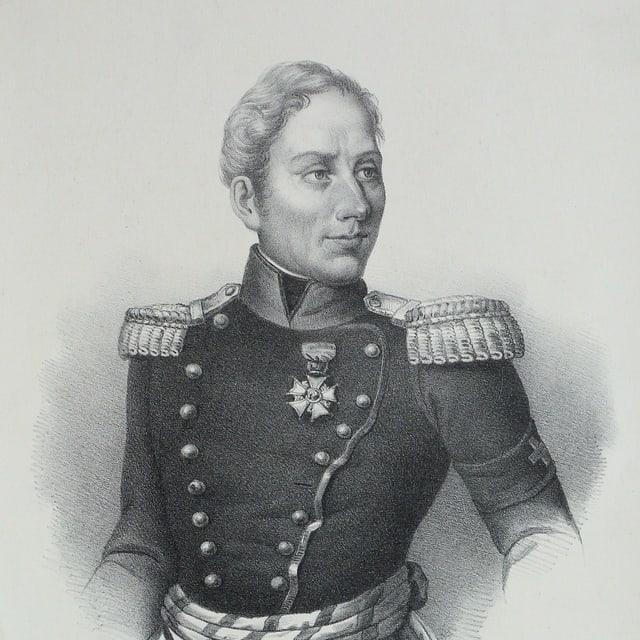 Dufour, Lithographie um 1830