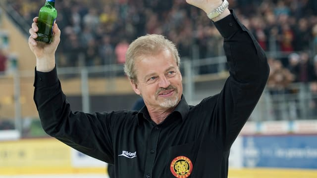 Il trenader Bengt-Ake Gustafsson