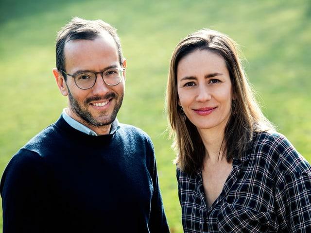 Jonathan und Claudia im Portrait