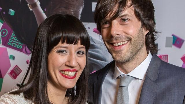 Adrian Stern und seine Frau Mylen.