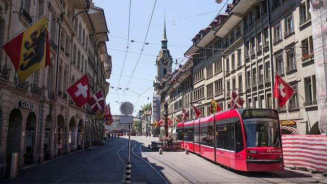 Die Berner Altstadt.