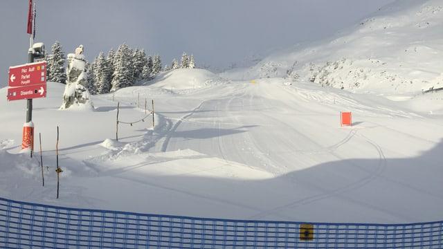Dapi sonda è il territori da skis da Mustér avert