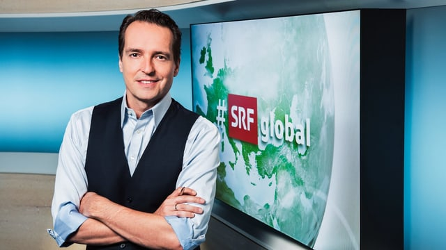 Florian Inhauser, Moderator «#SRFglobal»
