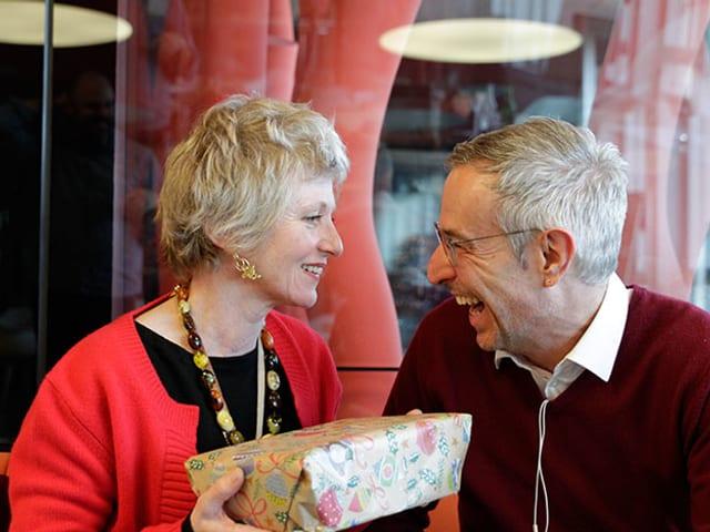 Esther Gemsch und Dani Fohrler.