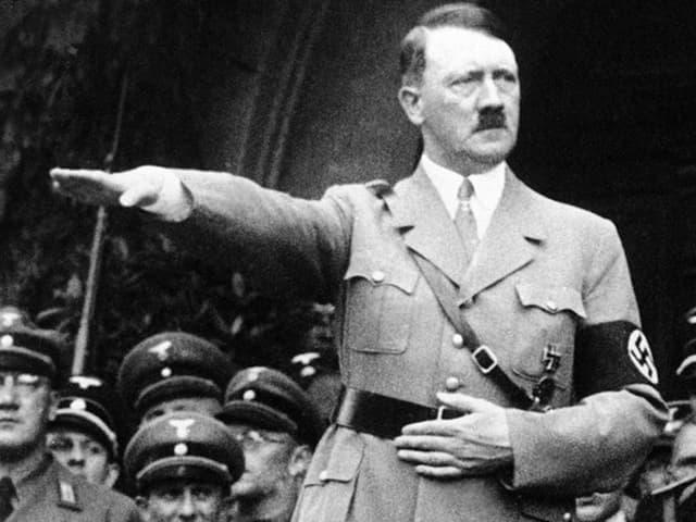 Adolf Hitler ein paar Monate vor dem Überfall auf Polen.