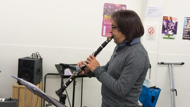 Marco Santilli durant las emprovas