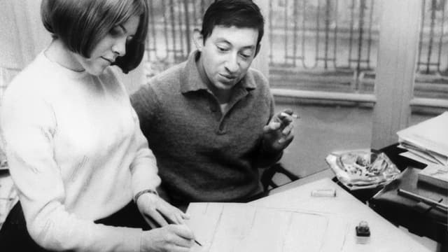 Serge Gainsbourg mit France Gall.