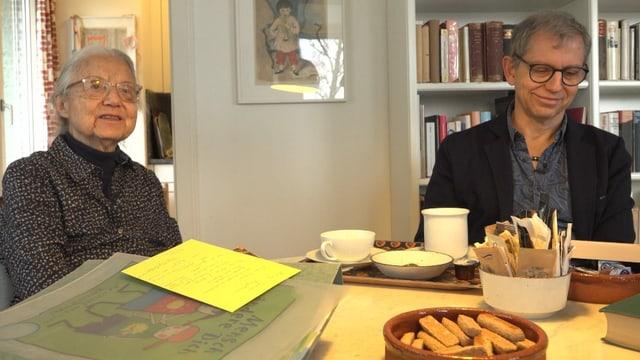 Die pensionierte Ärztin Yvonne Zeyer setzte sich schon in den 1960er-Jahren für den Umweltschutz ein und prägte damit Sohn Christian.