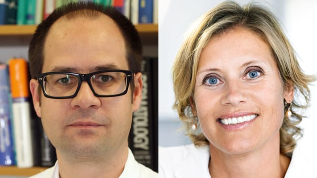 Dr. Andreas Arnold und Dr. Beatrice Banholzer