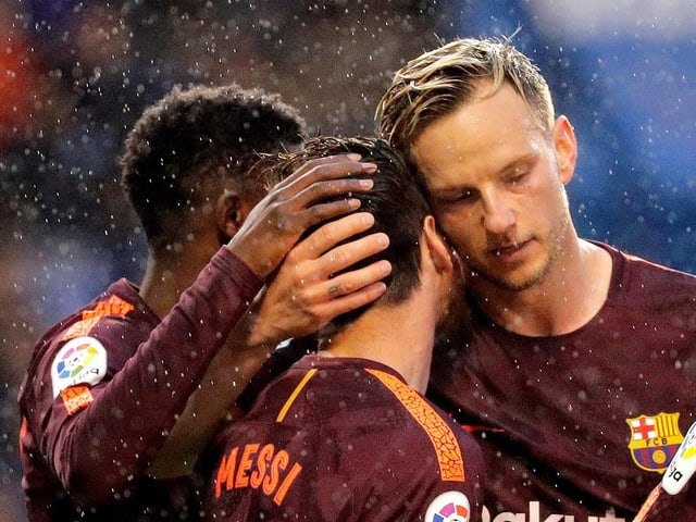 Lionel Messi schiesst Barcelona zum Meistertitel.