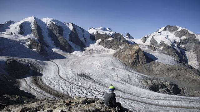 Il Vadret Pers en la regiun dal Bernina.