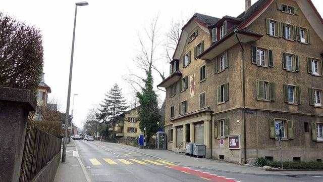 Das umstrittene Gebiet an der Bernstrasse in Luzern.