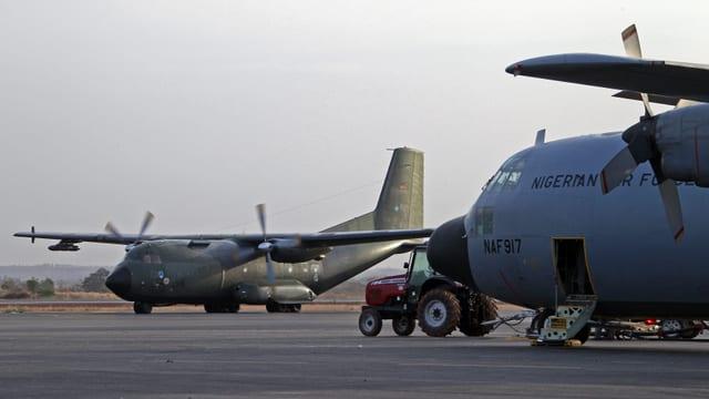 Deutsche Flugzeuge in Mali