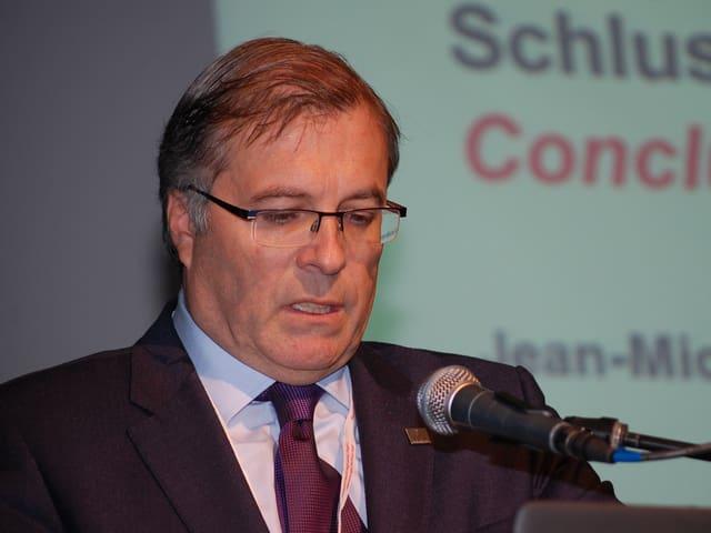 Walliser Volkswirtschaftsdirektor Jean-Michel Cina.