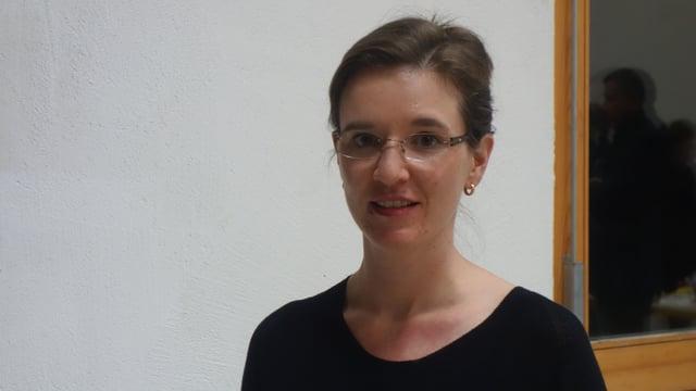 Carmelia Maissen, la suletta candidata per il post sco presidenta communala.
