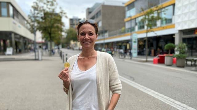 Sandra Hausmann, Geschäftsführerin Verein Herzkern