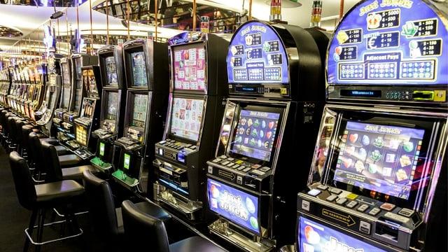 Glücksspiel-Automaten