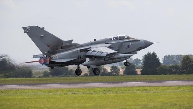 Kampfflugzeug der Royal Air Force