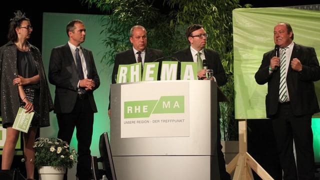 Eröffnung der Rheintaler Messe Rhema.