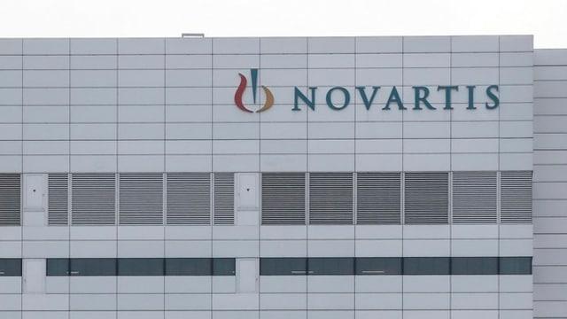 Bajetg da Novartis a Basilea.