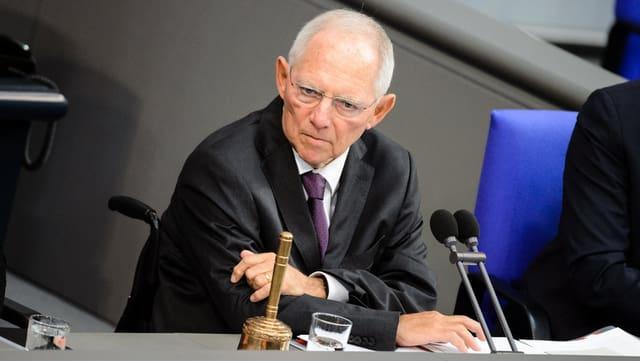 Portrait Schäuble.