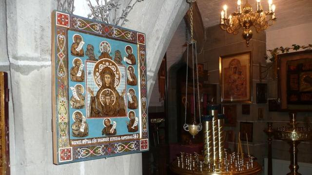 Video «Zur russisch-orthodoxen Weihnachtsfeier» abspielen