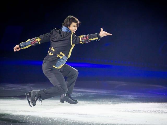Stéphane Lambiel ist ein Publikumsliebling bei Art on Ice.