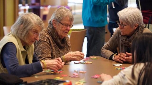 Bringt jung und alt an einen Tisch: das Spielfestival Ludesco.