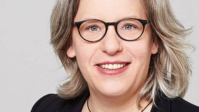 SRF-Wissenschaftsredaktorin Katrin Zöfel