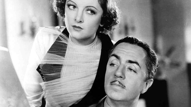 Nick Charles mit seiner Film-Ehefrau