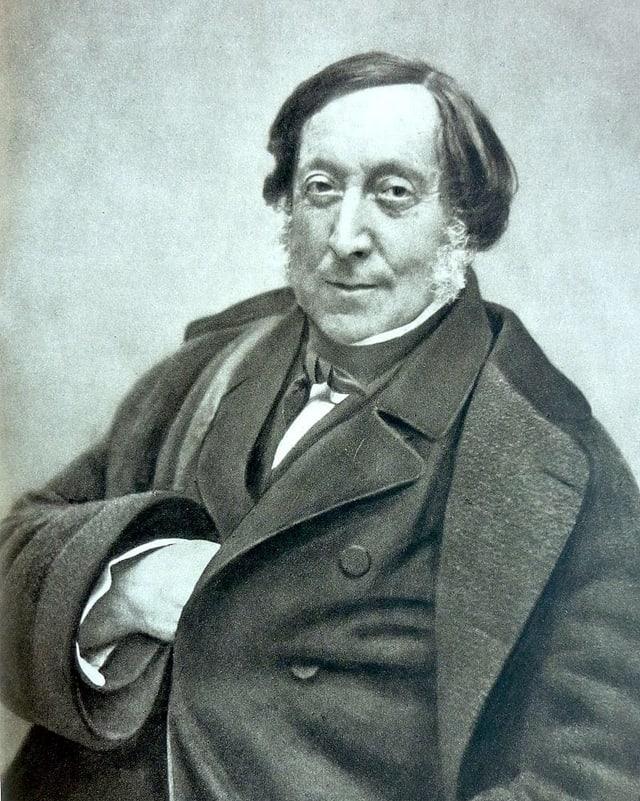 Gioachino Rossini war dick.