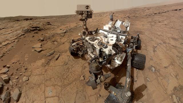 Der Nasa-Rover Curiosity auf dem Mars