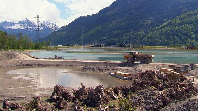 Video «Das Wiedererwachen der Flüsse: Kampf dem Sumpf (2/3)» abspielen