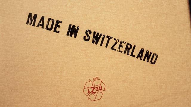 Stempel «Made in Switzerland»