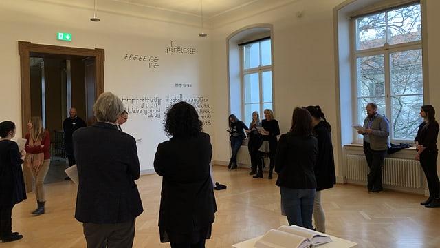 Presserundgang im Kunstmuseum St. Gallen