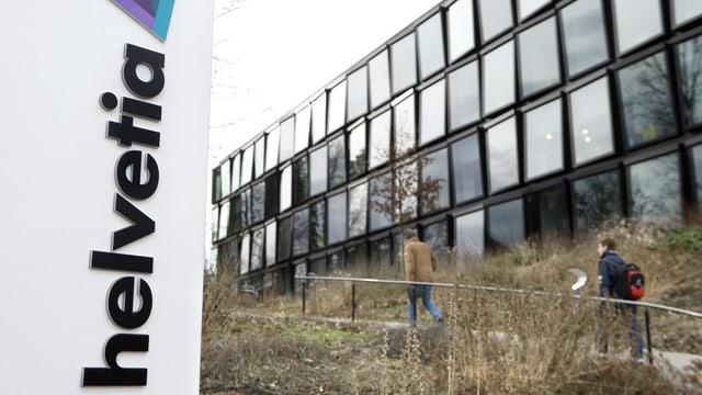 Helvetia Hauptsitz in St. Gallen