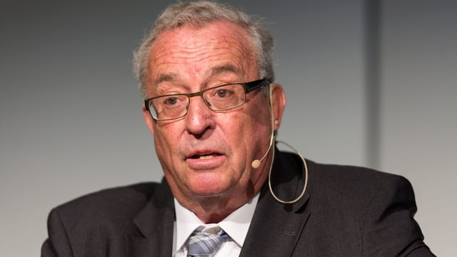 Hanspeter Lebrument, president dal cussegl d'administraziun ed editur da la Somedia.